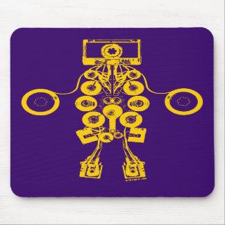 Cassettes Robot Mousepad