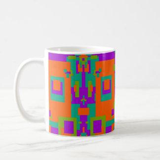 Cassic Mug in Mango Tango Design
