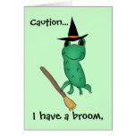 Cassie's Halloween Frog