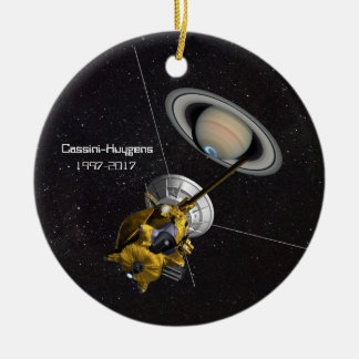 Cassini Huygens Mission to Saturn Christmas Ornament