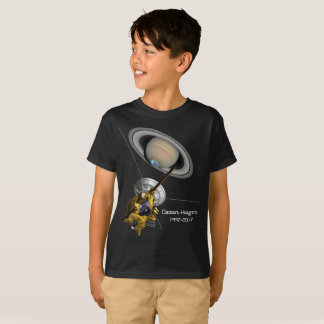 Cassini Huygens Mission to Saturn T-Shirt