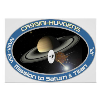 CASSINI - HUYGENS POSTERS