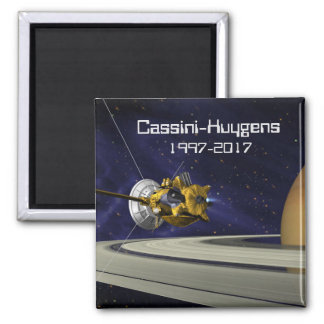 Cassini Huygens Saturn Mission Spacecraft Magnet