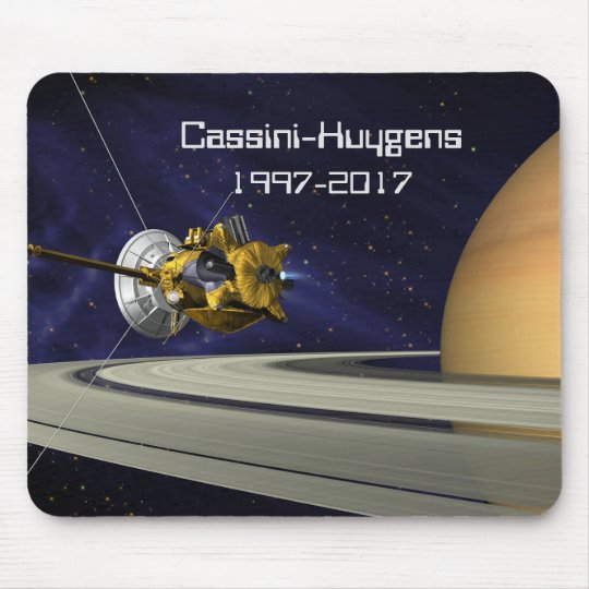 Cassini Huygens Saturn Mission Spacecraft Mouse Mat