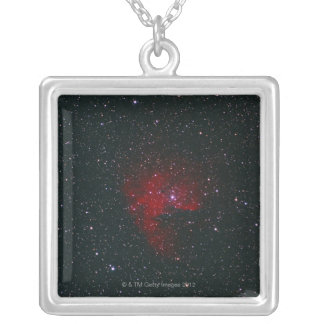 Cassiopeia 2 silver plated necklace