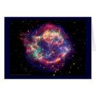 Cassiopeia A Supernova ... Death Becomes Her Card