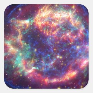 Cassiopeia A Supernova ... Death Becomes Her Stickers
