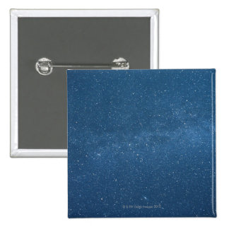 Cassiopeia and Milky Way 15 Cm Square Badge
