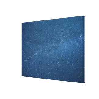 Cassiopeia and Milky Way Stretched Canvas Prints