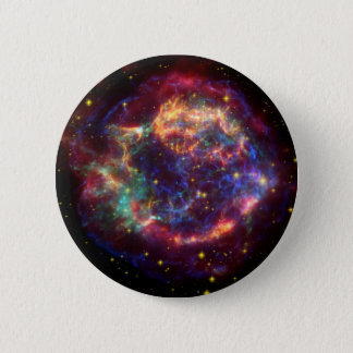 Cassiopeia Constellation 6 Cm Round Badge