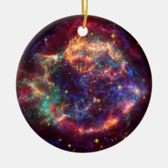Cassiopeia Constellation Christmas Ornament