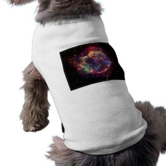 Cassiopeia Constellation Sleeveless Dog Shirt