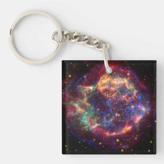 Cassiopeia Constellation Key Chain