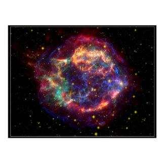 Cassiopeia Constellation Postcard