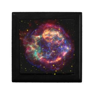 Cassiopeia Constellation Small Square Gift Box