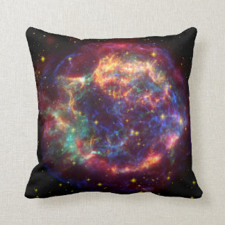 Cassiopeia Constellation Throw Pillow