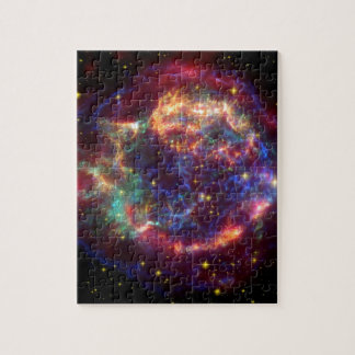 Cassiopeia Galaxy Supernova remnant Jigsaw Puzzle