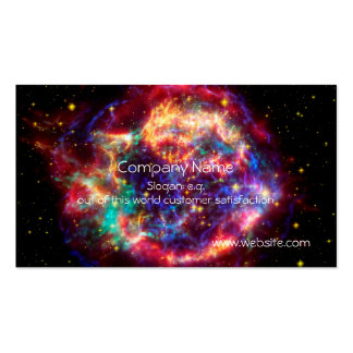 Cassiopeia, Milky Ways Youngest Supernova Pack Of Standard Business Cards
