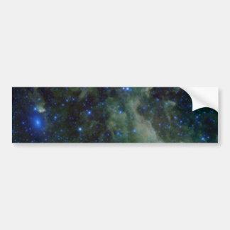Cassiopeia nebula within the Milky Way Galaxy Bumper Sticker