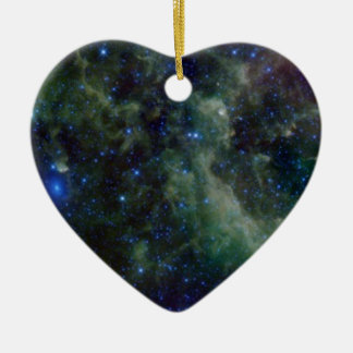 Cassiopeia nebula within the Milky Way Galaxy Christmas Ornament