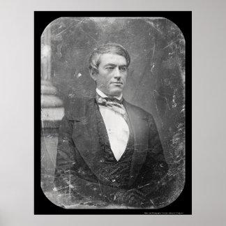 Cassius Clay Daguerreotype 1850 Poster