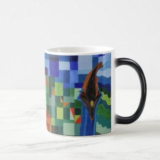Cassowary Attacked Morphing Mug