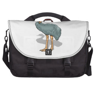 Cassowary Bird Laptop Bags