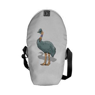 Cassowary Bird Messenger Bag
