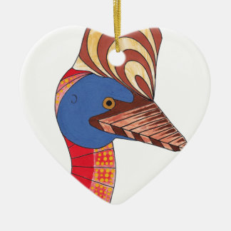 Cassowary Christmas Ornament