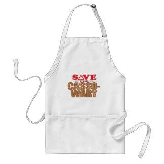 Cassowary Save Standard Apron
