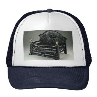 Cast iron fire basket basic mesh hats