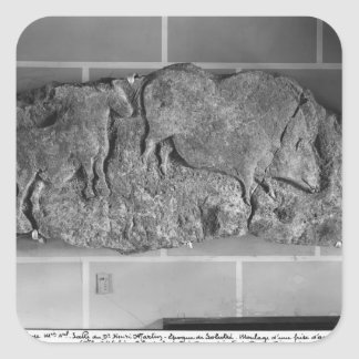 Cast of a frieze of animals from Le Roc de Sers Sticker