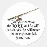Cast your care sticker