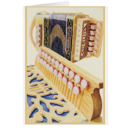 Castagnari Melodeons Greeting Card
