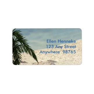 Castaway Party 1 Address Label