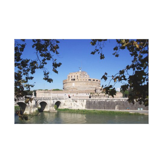Castel Sant Angelo Canvas Print