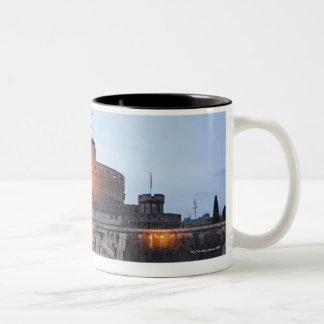 Castel Sant' Angelo Two-Tone Coffee Mug