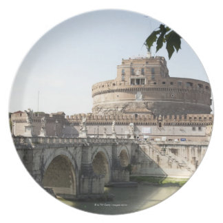 Castel Sant'Angelo is situated near the vatican, Plate