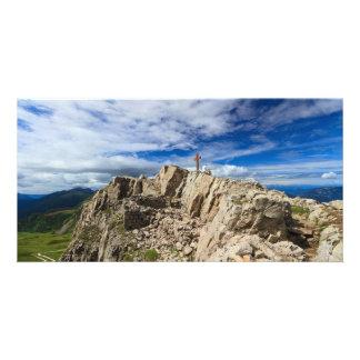 Castellazzo mount - Rolle pass Custom Photo Card