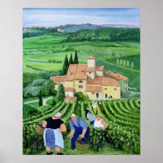Castellina-in-Chianti Poster