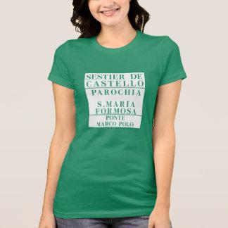 Castello-Formosa-Marco Polo, Venice, Street Shirts