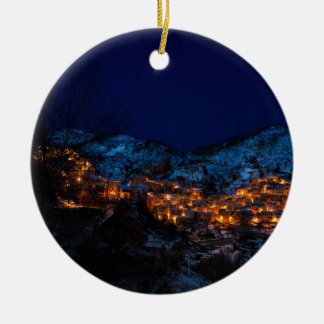 Castelmezzano Christmas Ornament