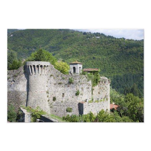 Castelnuovo di Garfagnana, Tuscany, Italy - A Photographic Print