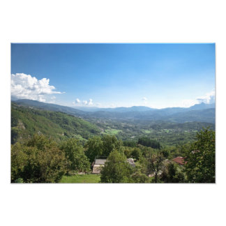 Castelnuovo di Garfagnana, Tuscany, Italy - Art Photo
