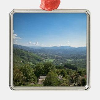 Castelnuovo di Garfagnana, Tuscany, Italy - Christmas Ornament