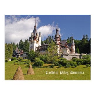 Castelul Peles, Romania Postcard Postcard