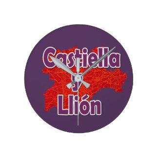 Castile and Leon Wallclock