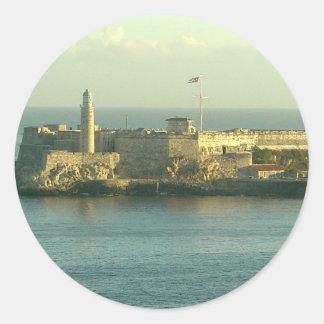 Castill del Morro La Habana Cuba Stickers