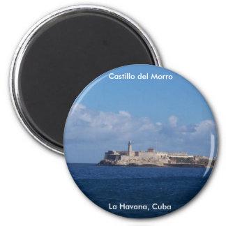 Castillo del Morro La Habana Cuba Refrigerator Magnets