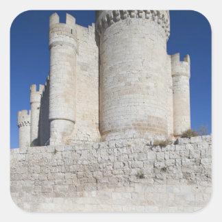 Castillo Penafiel, contains Wine Museum Square Sticker